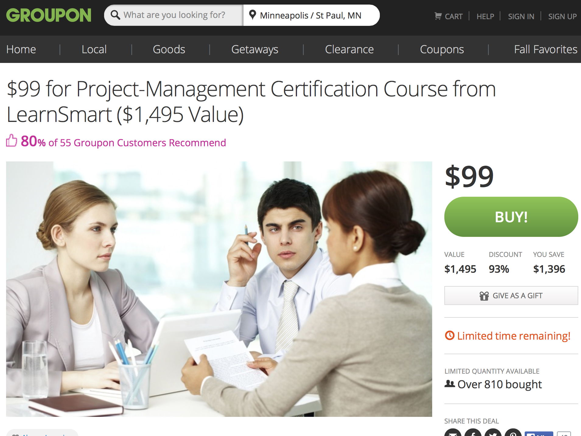 810 people bought this project management course on groupon future grouponpm 1betcityfo Image collections